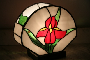 Lampe vitrail Tiffany