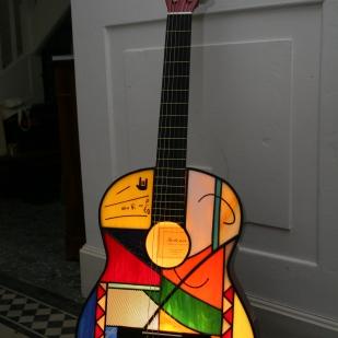 Création Guitare personnalisée